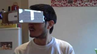 How to make virtual reality goggles