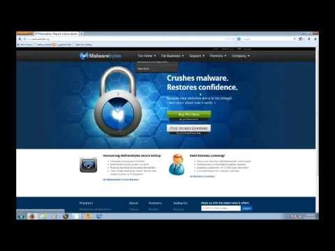 How to remove malware/viruses from a pc