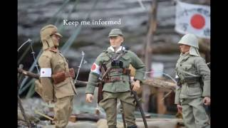 THE PACIFIC WW2 IN ACTION FIGURES