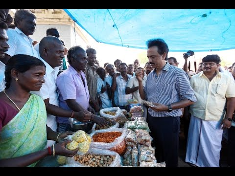 Namakku Naame Day 19: Thalapathy MK Stalin interacts with people in Karur