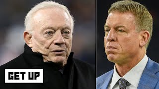 Troy Aikman calls out Jerry Jones: The Cowboys will have problems until he changes | Get Up
