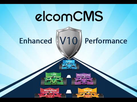 elcomCMS V10 for Websites, Intranets & Portals