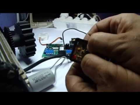 Clonagem de controle remoto de portão automático
