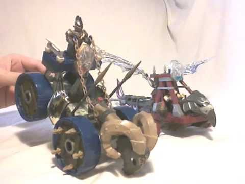 Megabloks Dragons Video Review: Battlefield Vehicles Set (2006) [english] video