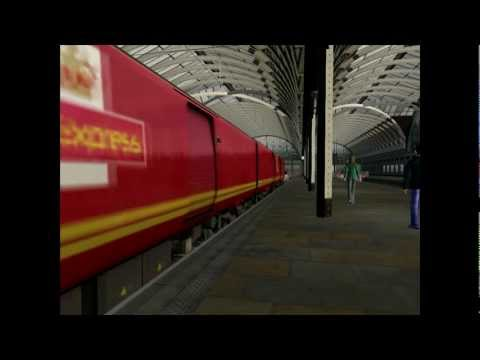 Railworks 3 -  Royal Mail Class 325 EPU, Southall - Paddington Via Ealing Broadway