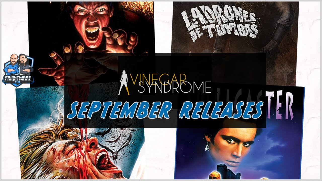 Vinegar Syndrome September Releases - Opening and Overview