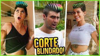 FIZ O CORTE DE CABELO BLINDADO E FICOU IMPRESSIONANTE!! [ REZENDE EVIL ]