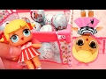 LOL Surprise Series 1 Toys And Dolls Fun Opening 7 Layers Toy Surprise Balls mp3