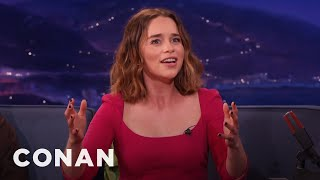 "Emilia Clarke Accidentally Crashed A ""Game Of Thrones"" Wedding  - CONAN on TBS"