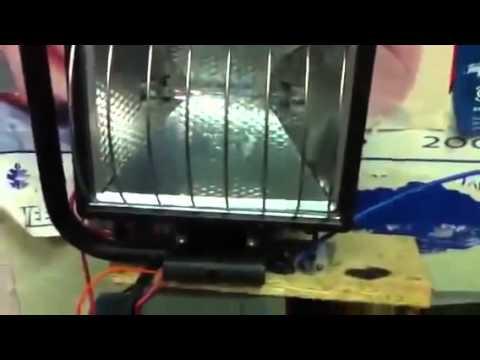 Ruslan Kulabuhov free energy generator as shown halogen light power