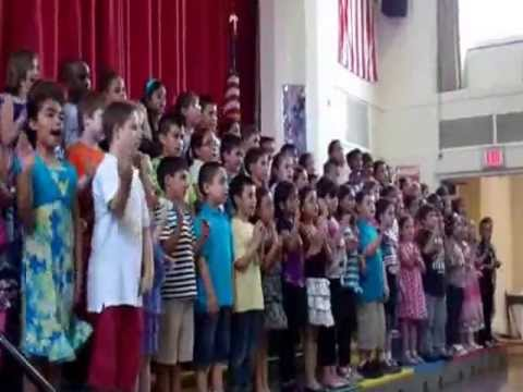 """Hello to All the Children of the World"" Hampton Street School 2nd Grade Spring Concert 2013"