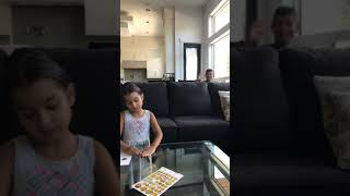 Aaryah and Kartar's kids art activities. Will little brother ruin the activity? Part 2 emoji art