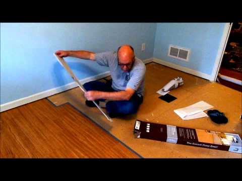 Allure By Traffic Master Flooring Install | How To Save Money And Do ...