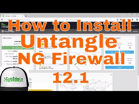 How to Install and Configure Untangle NG Firewall 12.1 + Review + VMware Tools on VMware Workstation