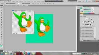 Tutorial: Como hacer un pinguino animado de Club Penguin en Photoshop CS5