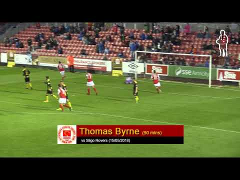 Goal: Thomas Byrne (vs Sligo Rovers 15/05/2018