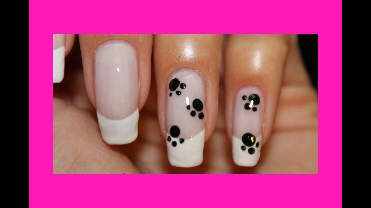 Рисуем на ногтях гель лаком в домашних условиях