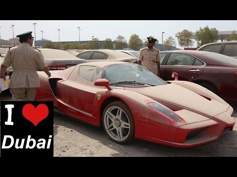 Брошенные автомобили Дубая (Abandoned Cars in Dubai)