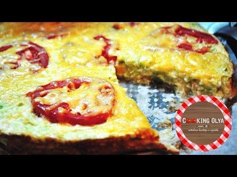 Кабачковая пицца | Быстрый и простой рецепт от CookingOlya