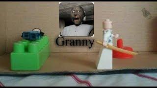 Lego Granny Horror| Stop-motion