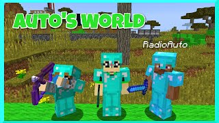 Download Lagu Minecraft - Team RadioJH Shows Auto World in Survival PT1 - Roller Coaster, Park and More Gratis STAFABAND
