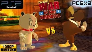 Tom and Jerry in War of the Whiskers - PS2 Gameplay 1080p - Tyke vs Eagle