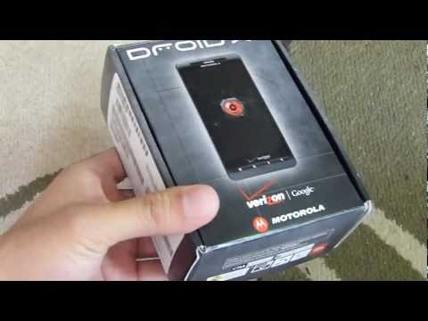 Motorola DROID X2 Unboxing & Hands-on