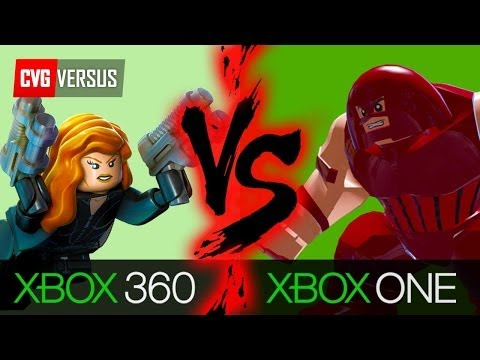 Lego Marvel Superheroes Xbox One vs 360