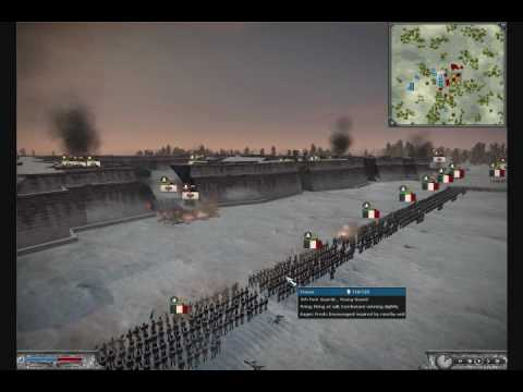 Battle of Berlin - Fort Battle - A Napoleon Total War Film