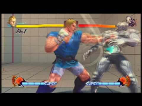 Street Fighter 4 Super and Ultra Combos
