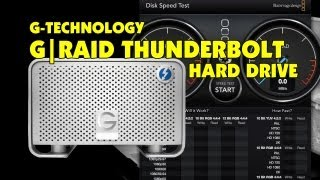 G-Technology G|RAID Thunderbolt Hard Drive Speed Test & Review