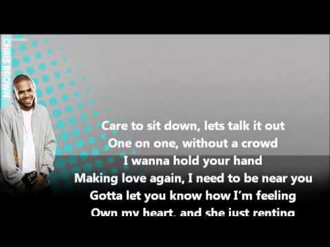 Nicki Minaj Ft Chris Brown - Right By My Side (official Lyric Video).mov video