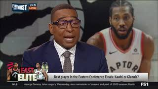 Best player in the Eastern Conference Finals Bucks-Raptors: Kawhi Leonard or Giannis?