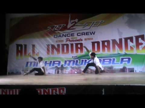 amit & mukesh 4 times winner @ All india dance ka maha mukabala orgnized by step 2 step dance acad