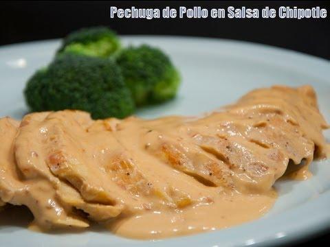Pechuga de Pollo en Salsa de Chipotle