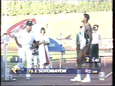 Sotomayor World Record 2,45m High Jump - Salamanca 1993