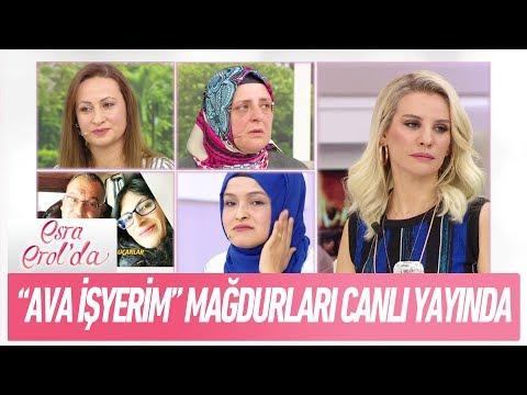 ''Ava İşyerim'' mağdurları canlı yayına - Esra Erol'da 20 Şubat 2018