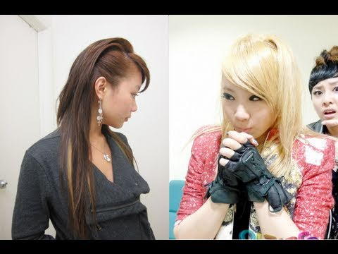 CL (2NE1) Inspired Edgy Hairstyle