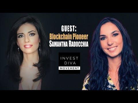 Samantha Radocchia: Bitcoin Pizza Book Author & Blockchain Pharma Pioneer
