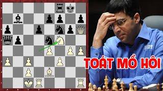 Phá trận con rồng, cậu bé 12 tuổi khiến vua cờ Anand toát mồ hôi