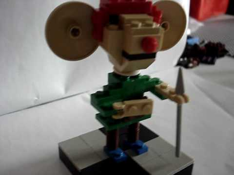 The Tale of Despereaux (lego model)