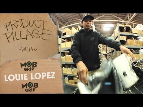 Product Pillage: Louie Lopez Raids the Warehouse | MOB Grip