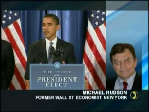 Afshin Rattansi & Prof. Michael Hudson on Obama's New Team
