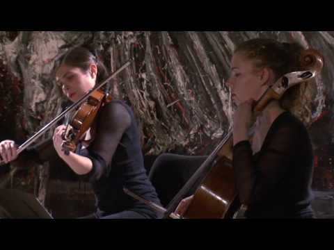 Ardeo Quartet plays Ligeti (String Quartet Nº 1) 2/3 Music Videos
