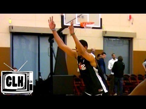 Karl Towns HAS NBA 3 POINT RANGE - 2015 NBA Draft - Kentucky Wildcats
