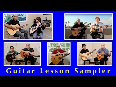 Guitar Lesson Sampler Video