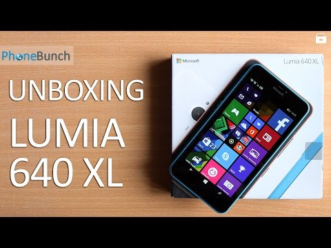 Microsoft Lumia 640 XL India Unboxing and Hands-on Overview