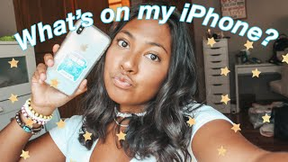 What's on my iPhone XS Max? + How I edit my Instagram pictures!
