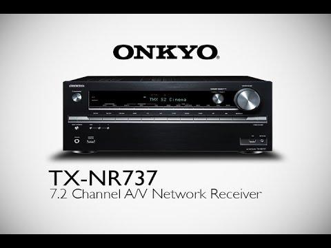 ONKYO - TX-NR737 Network A/V Receiver