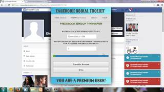 Join MultipleFacebook Groups With Facebook Group Transfer Tool